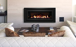 gas log fire bendigo