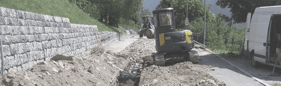 costruzioni di strade