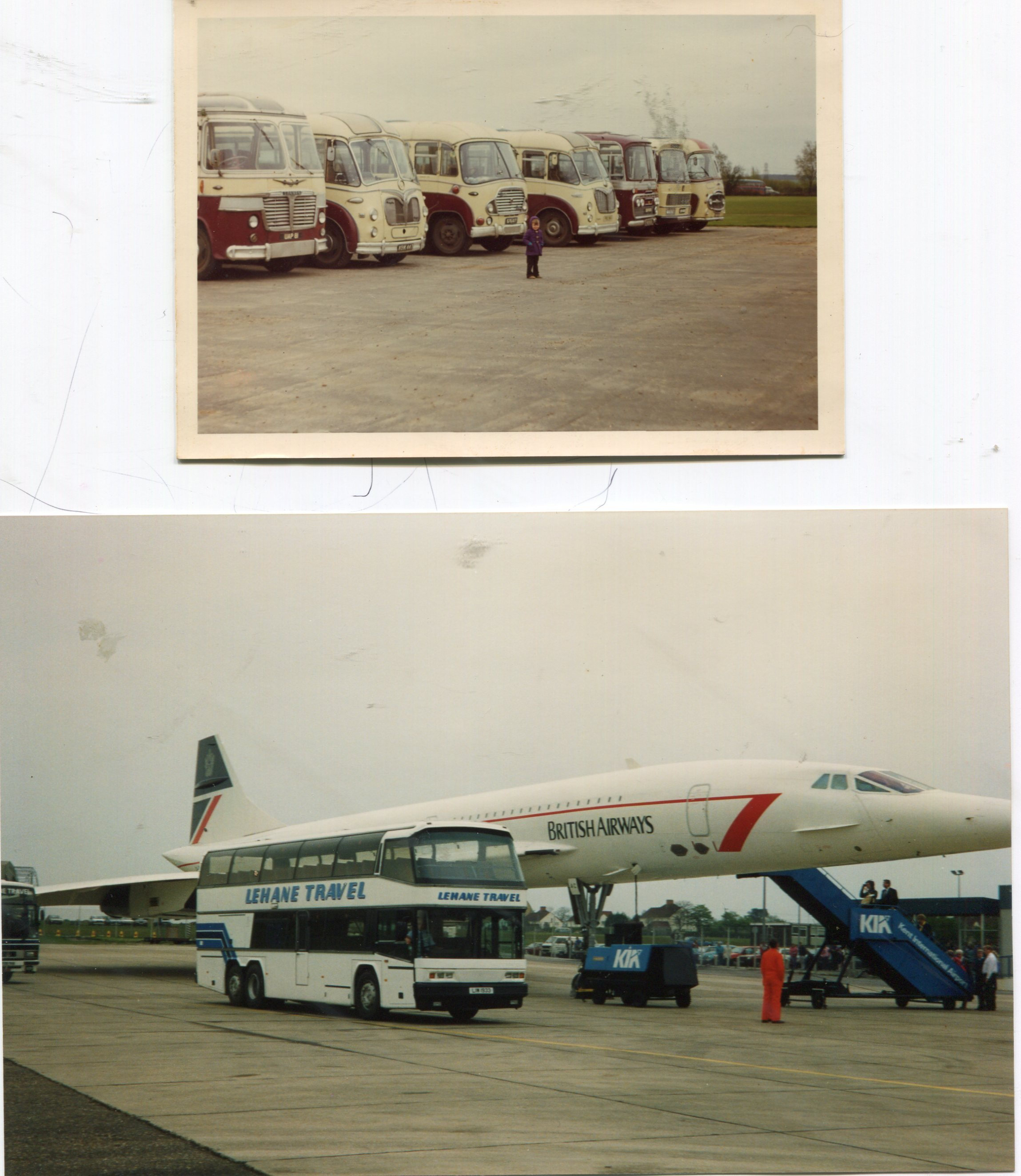 buses and flight