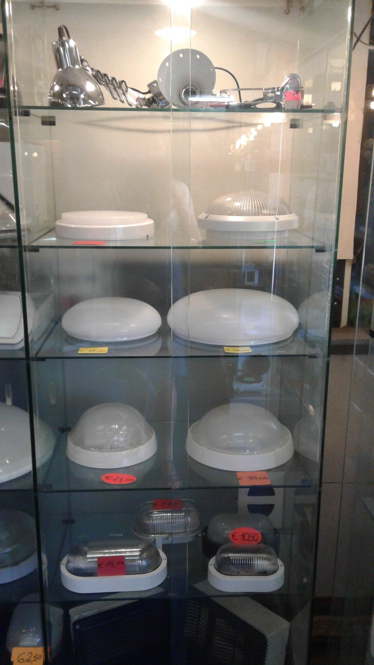 lampade in vari formati