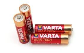 quattro batterie Varta