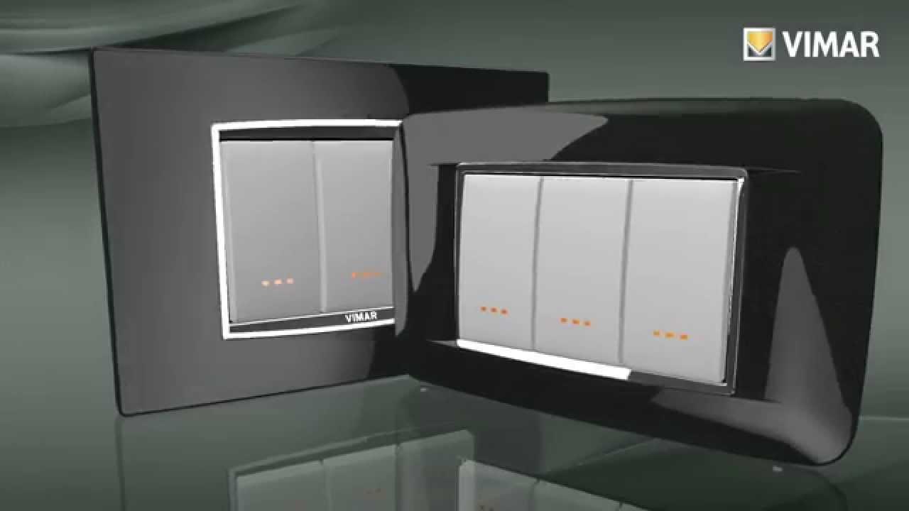placche per interruttori luce a marchio Vimar