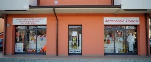 esterno negozio antincendio imolese - Imola