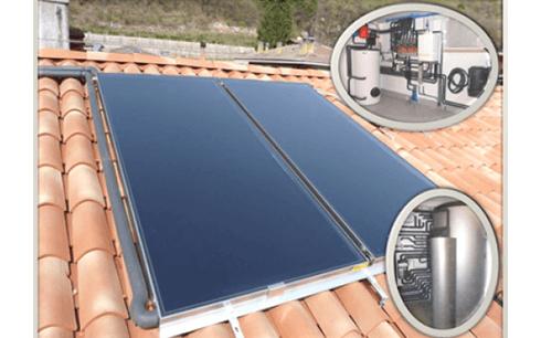 Impianto a pannelli solari