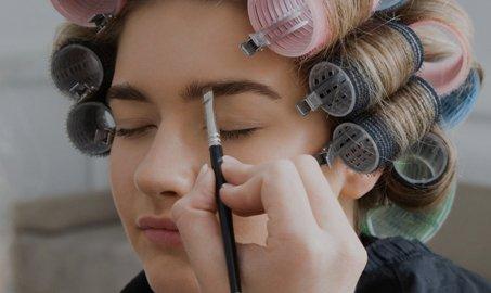 eyebrow tinting and waxing