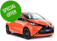 Toyota car hire first self drive