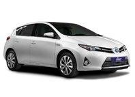 Toyota Auris first self drive