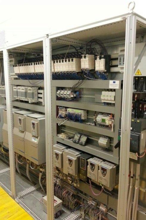 Centraline impianto elettrico