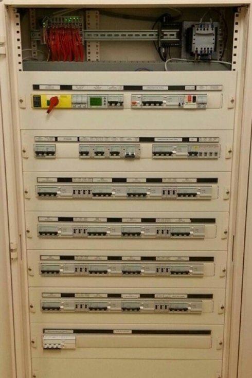 Pannello di controllo impianto elettrico