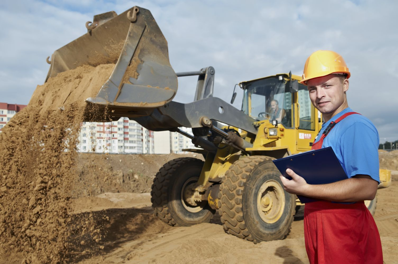 One of the contractors of our excavation company in Anchorage, AK