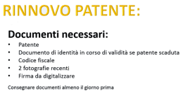 rinnovo patente guida