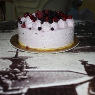 torta, frutti di bosco