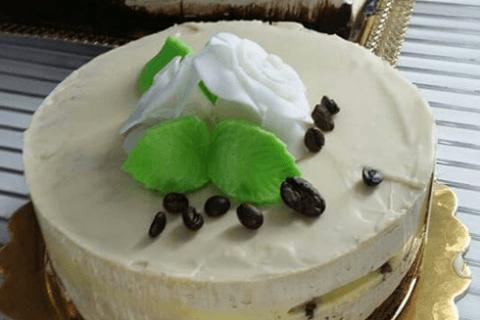 torta, caffè, torta personalizzata