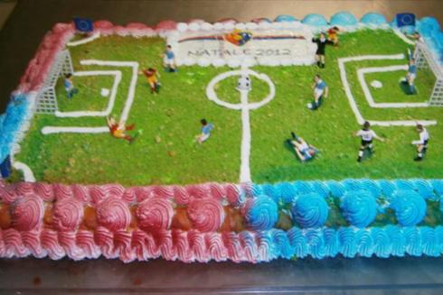 torta calcetto, torta personalizzata