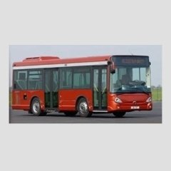 Bus rosso Iveco
