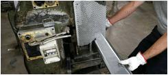 Produzione elementi microforati