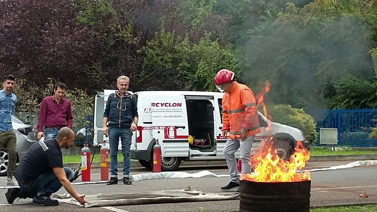 Corso addetti antincendio