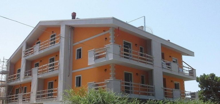palazzina di nuova costruzione