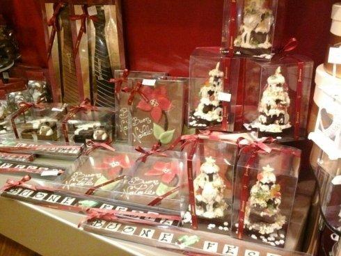 dolci natalizi al cioccolato