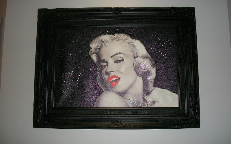 una cornice di Marilyn Monroe