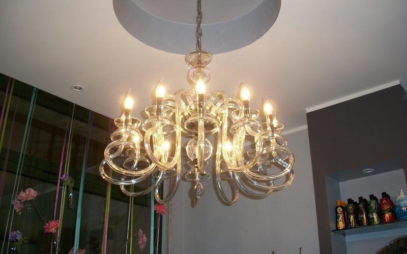 uno lampadario in Murano