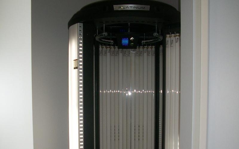 una cabina solarium