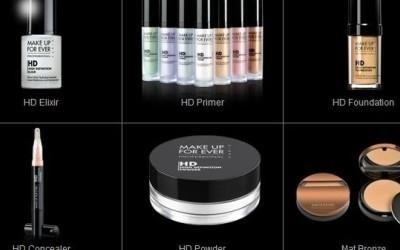 un collage di cosmetici HD