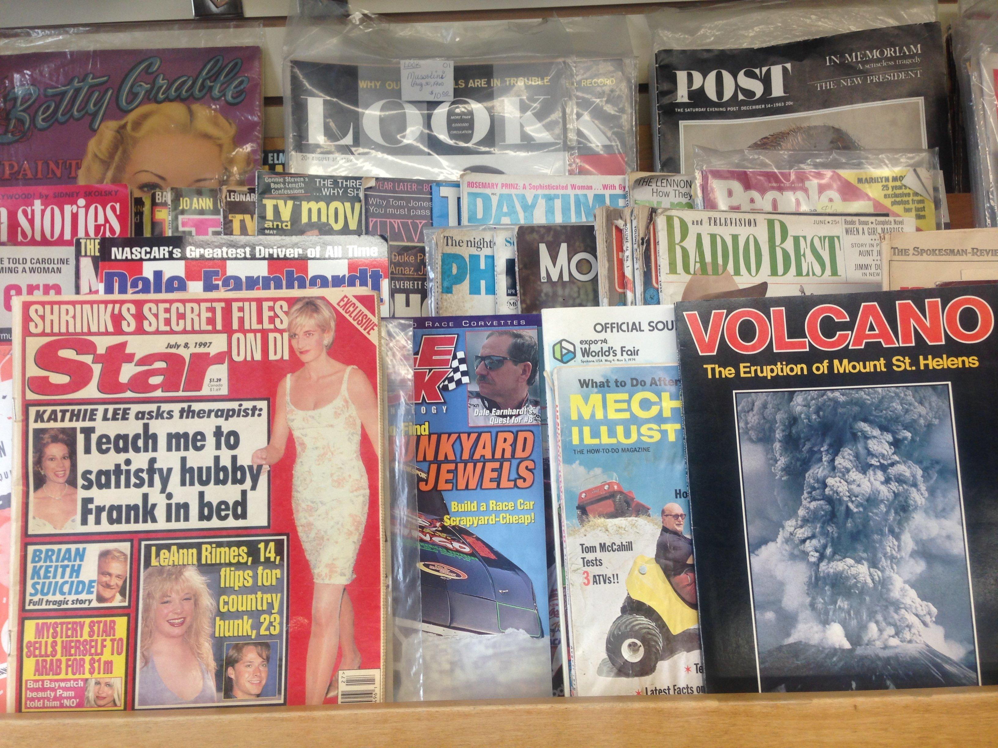 Vintage magazines Spokane wa