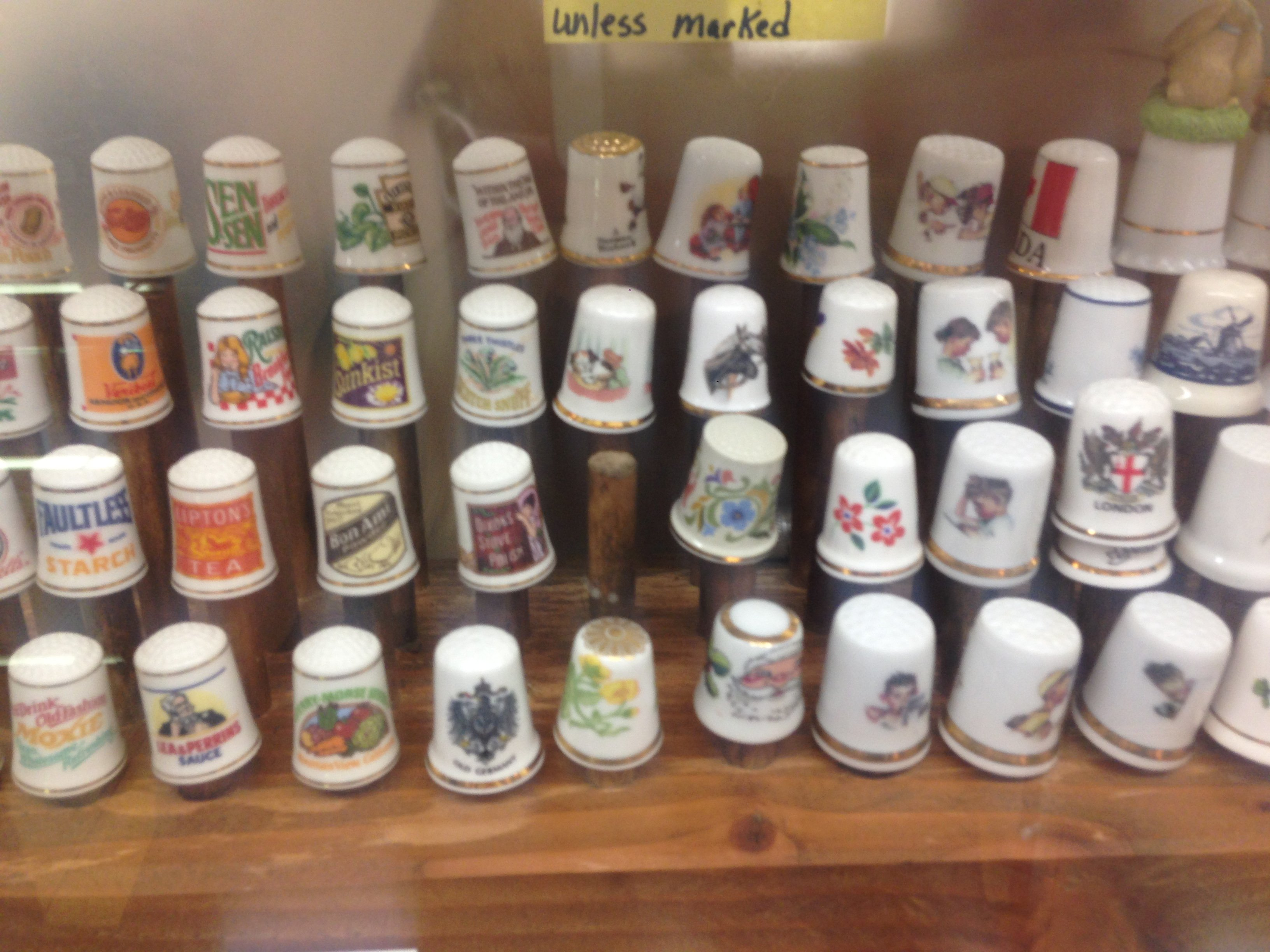 Antique Thimbles, Spokane WA