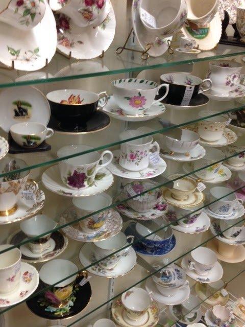 Antique Glassware in Spokane