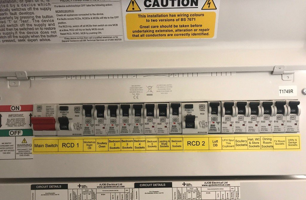 Replacing Your Fuse Box    Consumer Unit