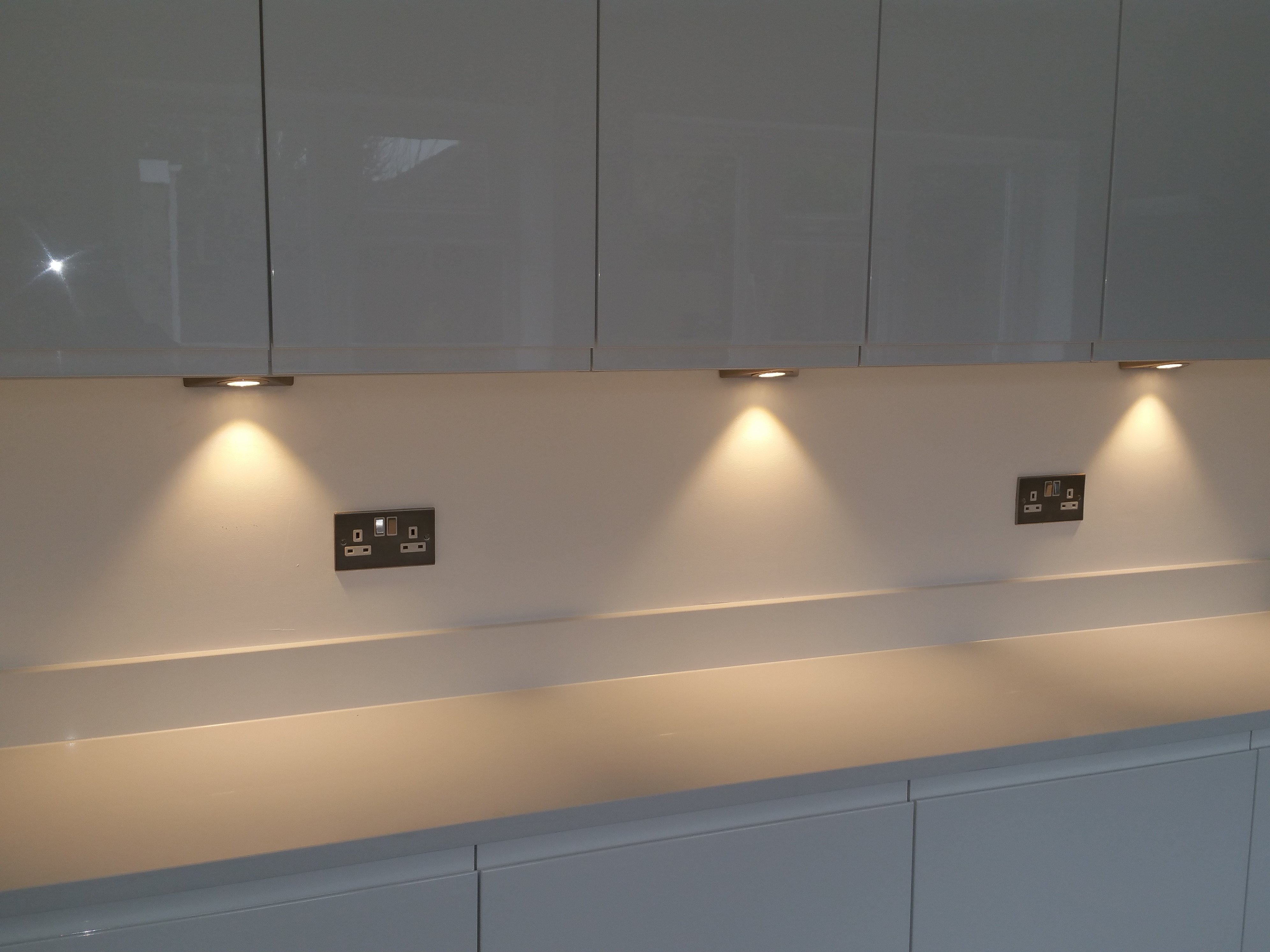 LED lighting installed by AJOB Electrical Ltd electrician in Leeds