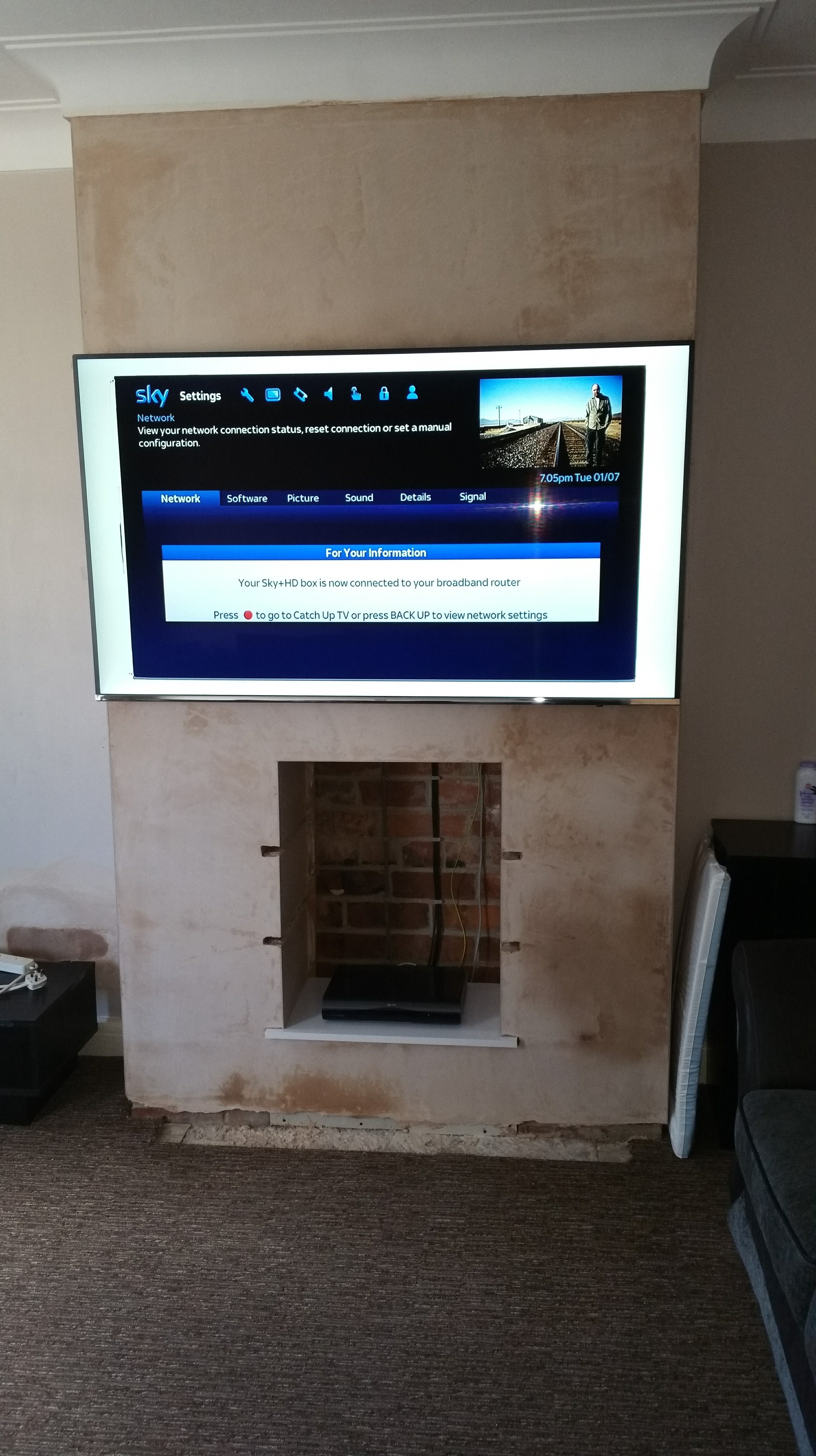 AV installation completed by AJOB Electrical Ltd electrician in Leeds