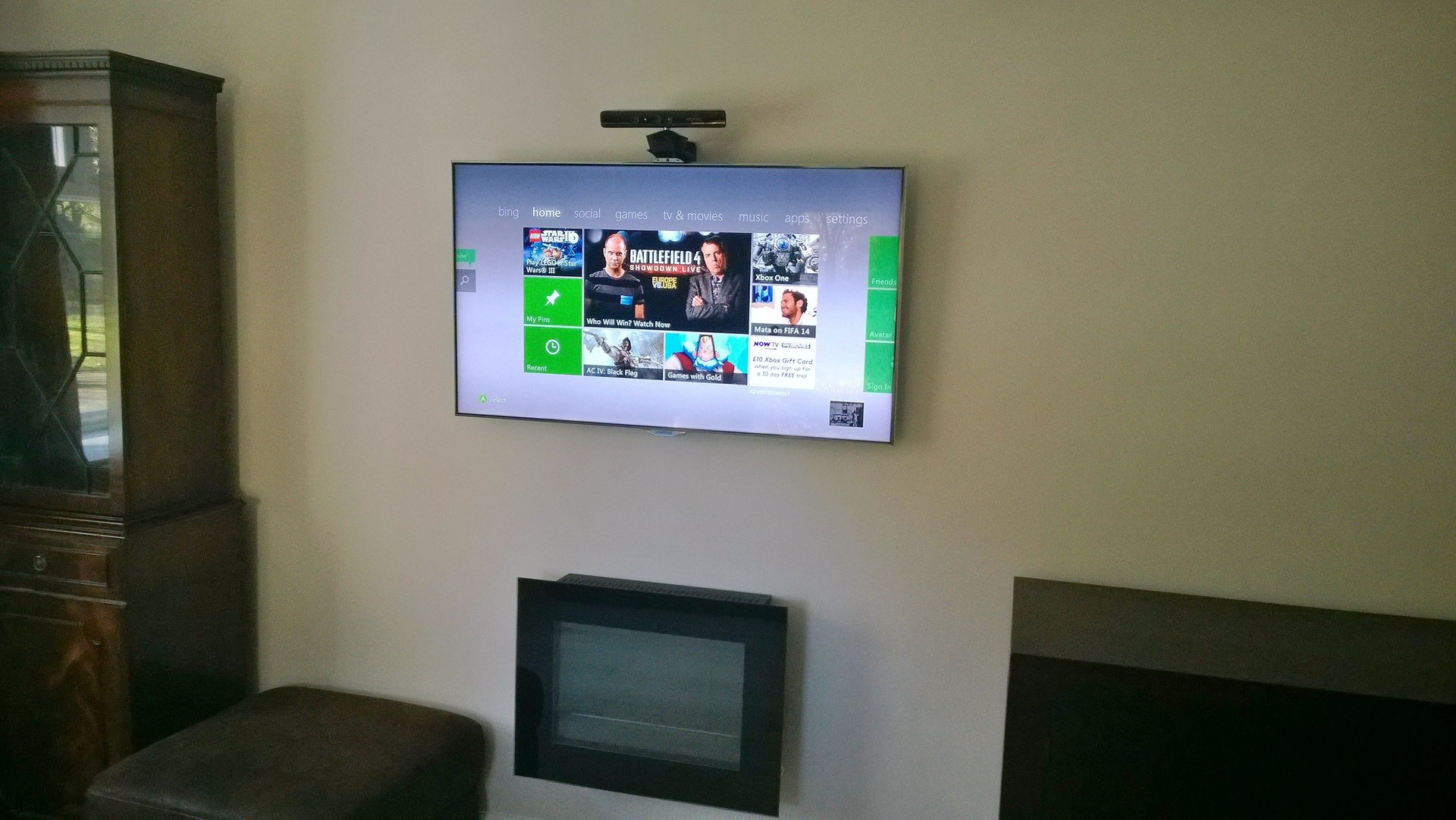 AV installation by AJOB Electrical Ltd electrician in Leeds