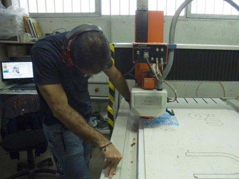 taglio laser PVC