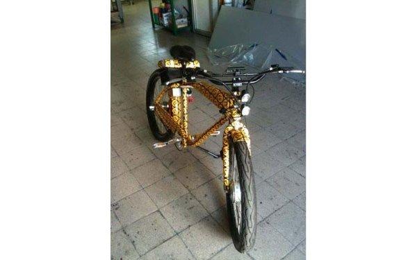 pellicola per bici
