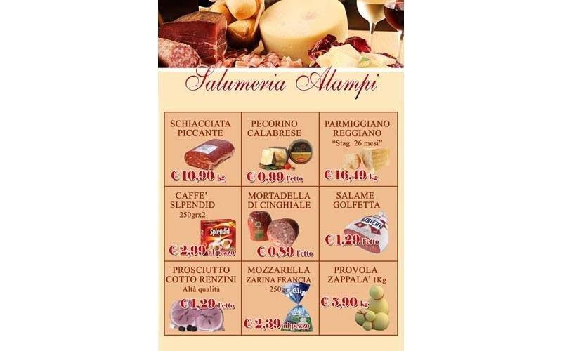 stampa menu per ristoranti