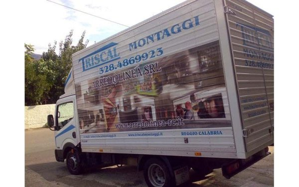 stampa su camion