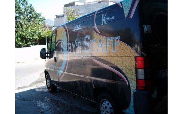 personalizzazione furgoni aziendali