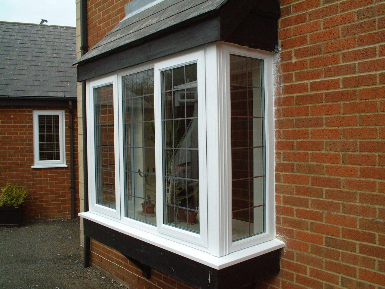 Elegant casement windows