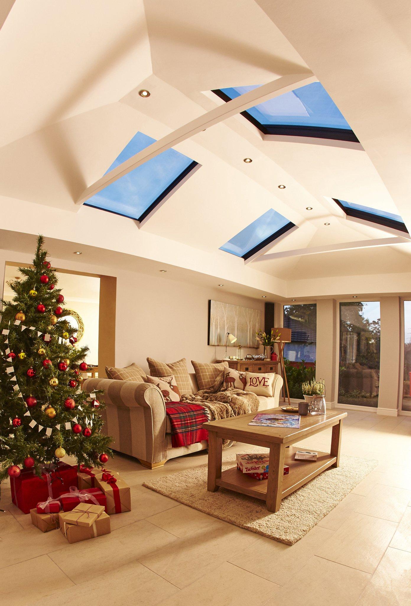 Interiors of conservatory
