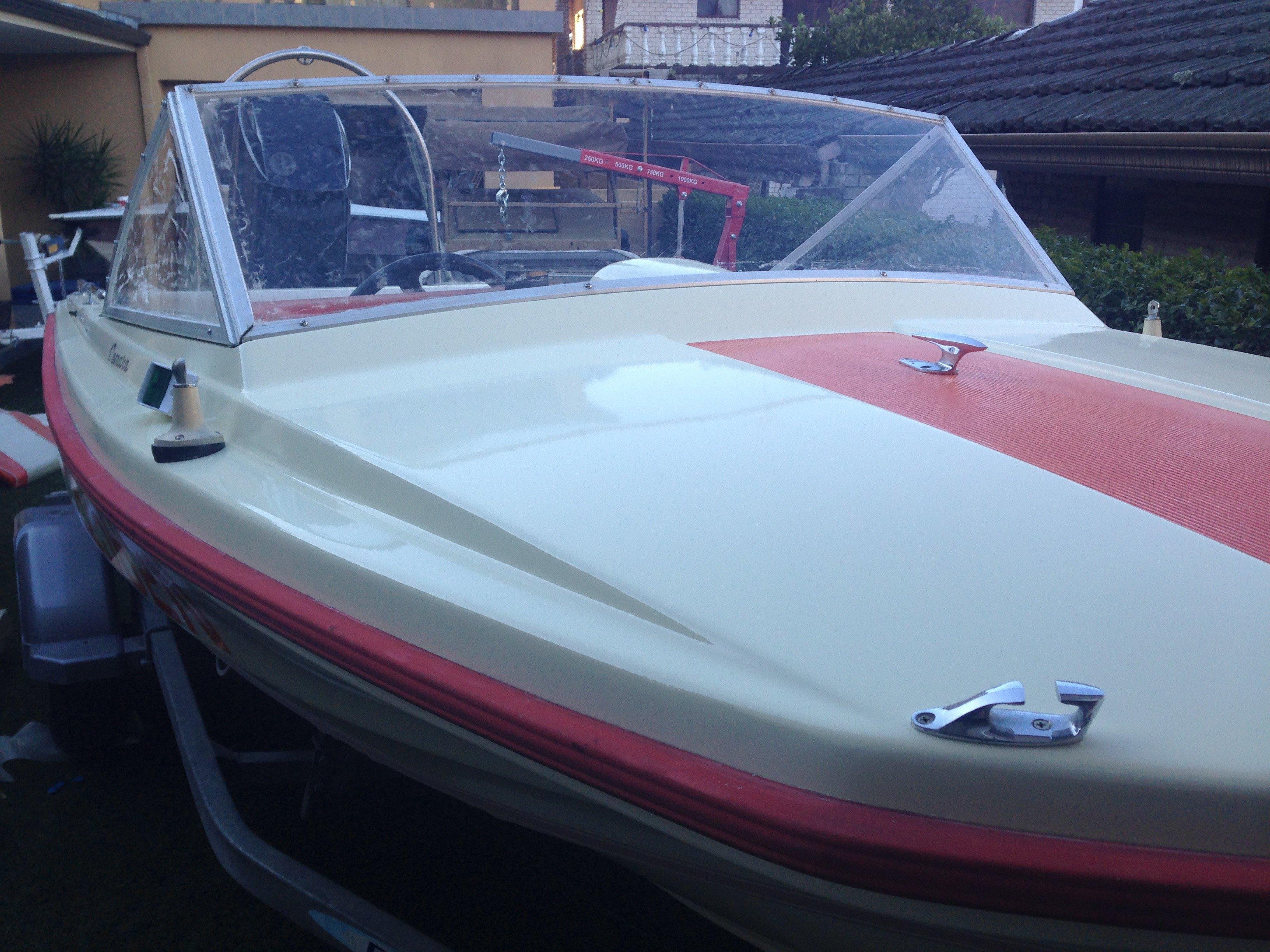 Boat full repaint Sydney