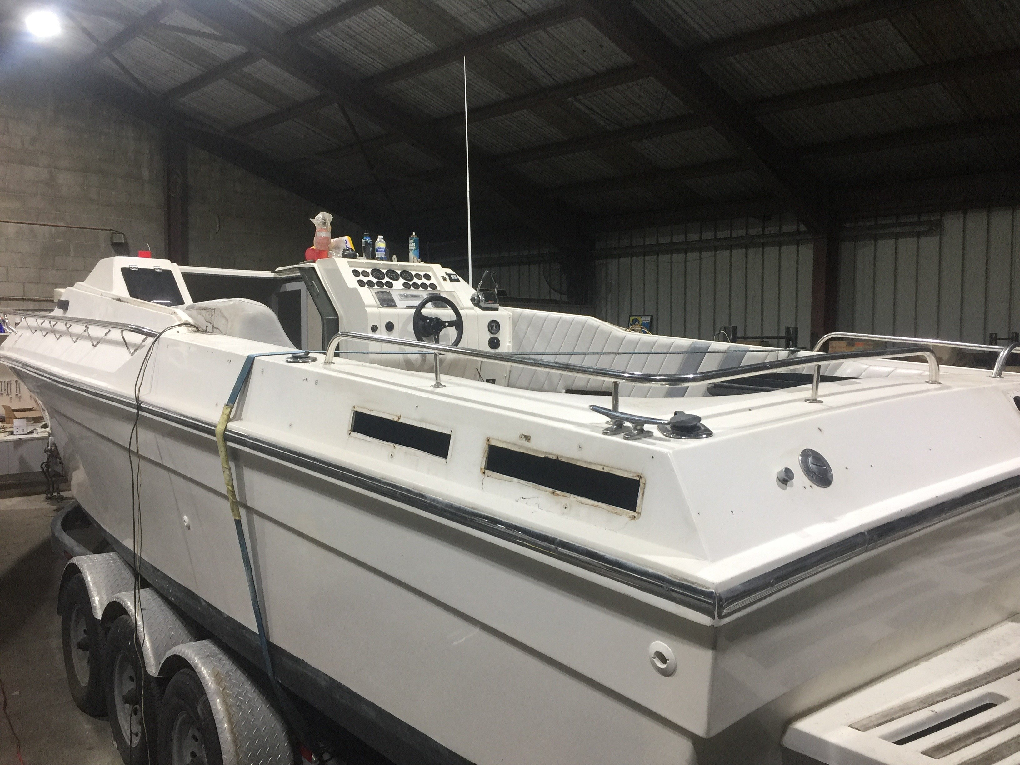 Boat restorations, interior fitouts and repairs Sydney