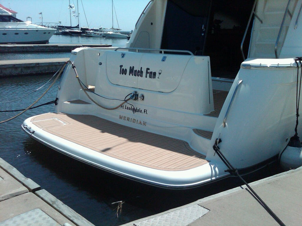 Marine Synthetic Teak Deck Installation On Yachts And Boats