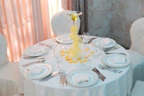 Tavolo con candela