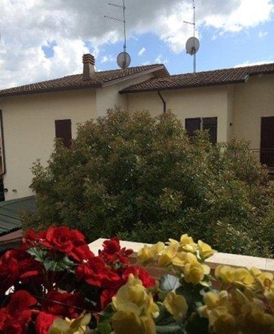 Vista fuori del B&B a Mantova