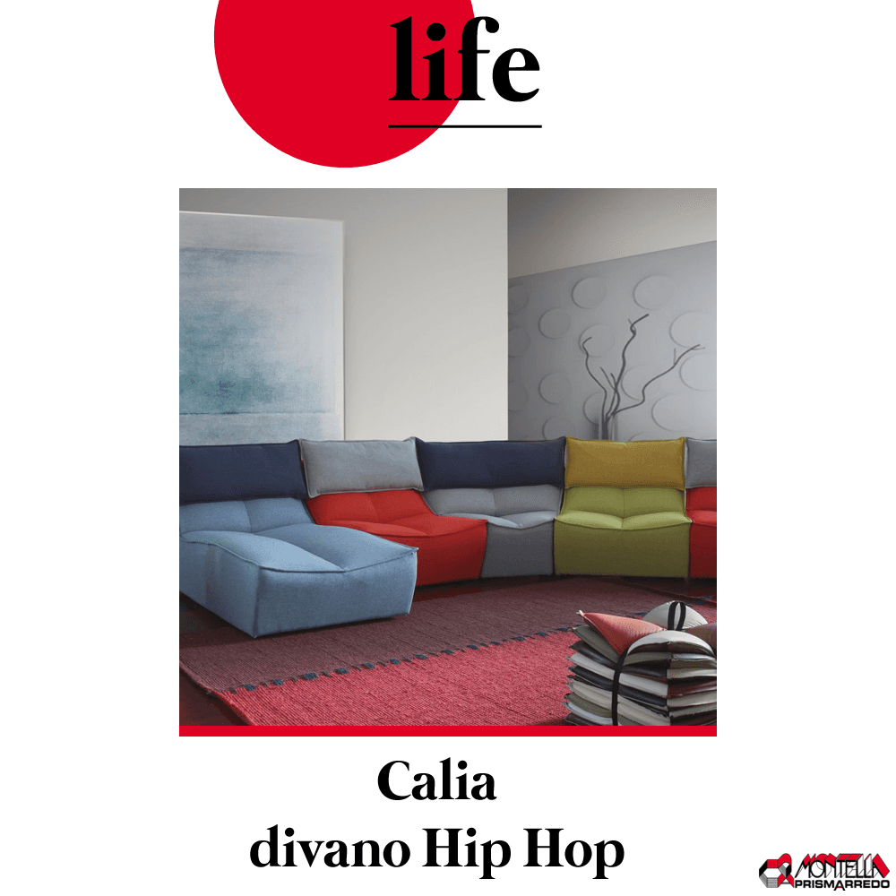 life: Calia divano Hip Hop