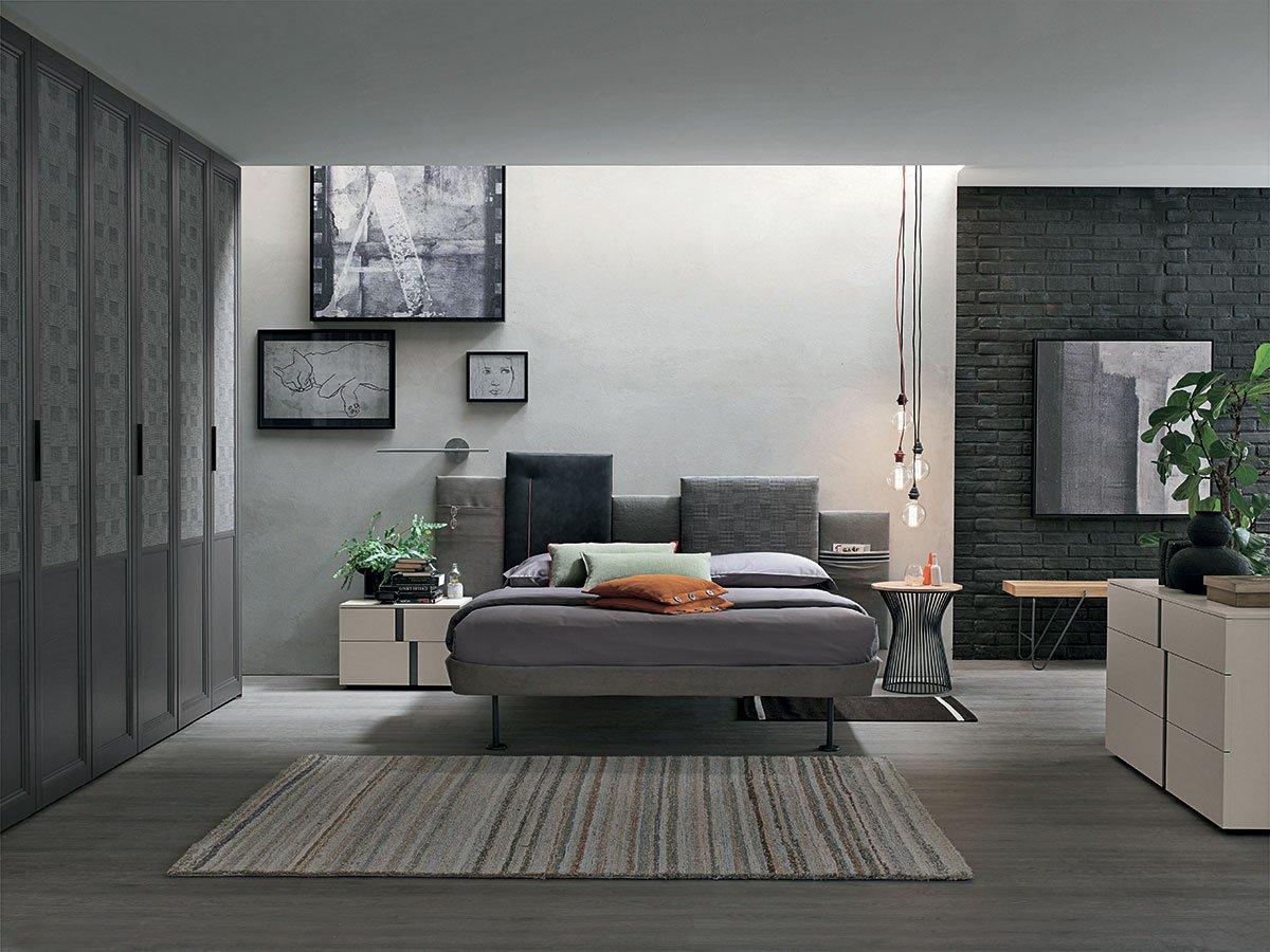 camera da letto SKYLINE - arredo Battipaglia e Salerno da Montella Prisma Arredo