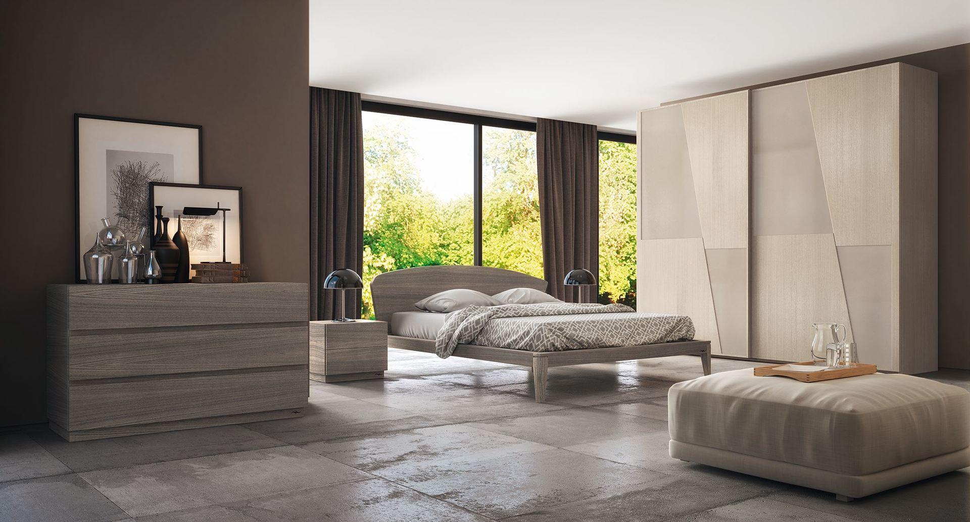 Camera da letto salerno montella prisma arredo - Spalliere da letto ...