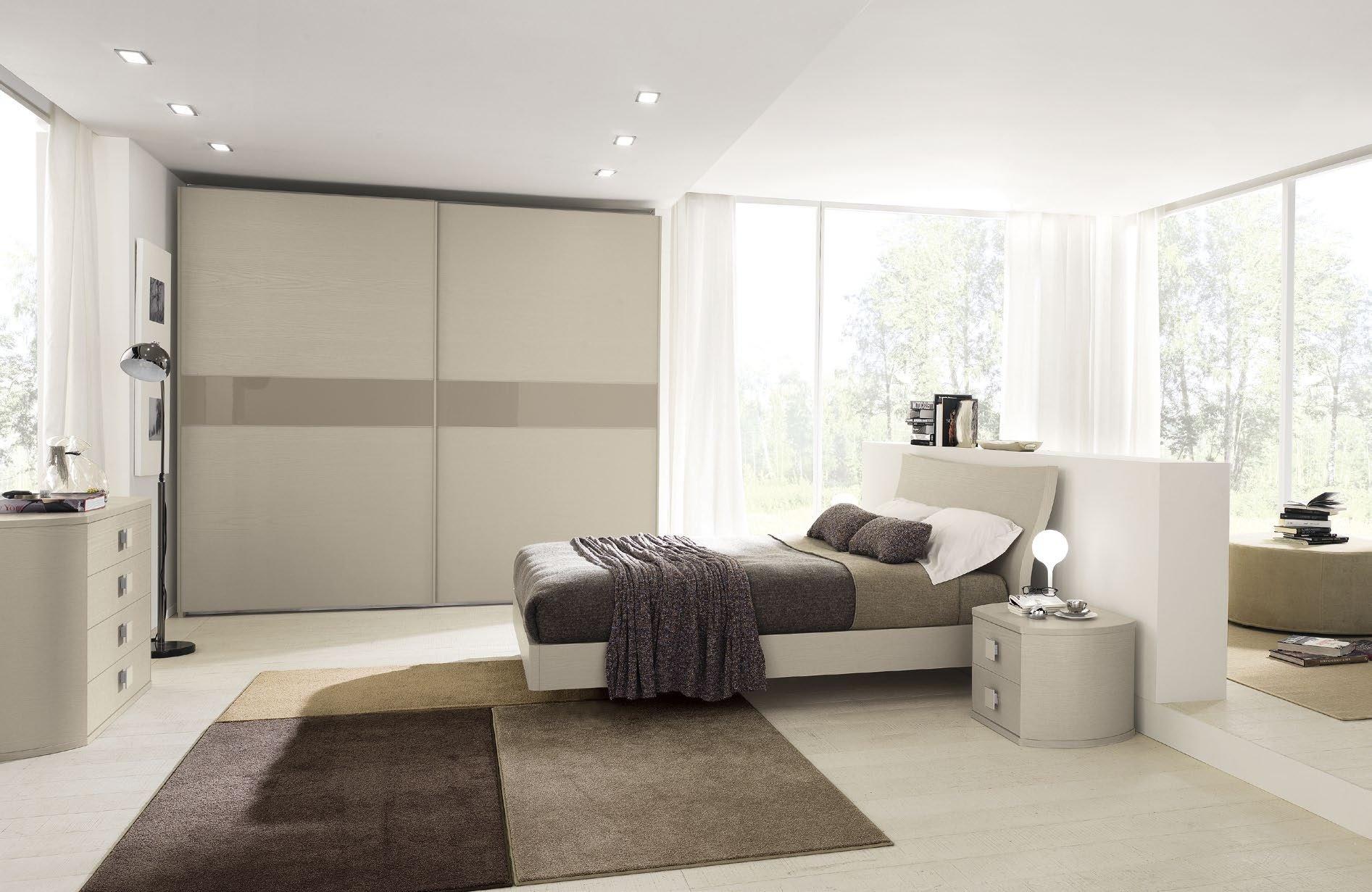 Camera da letto salerno montella prisma arredo - Camera da letto moderna contemporanea ...